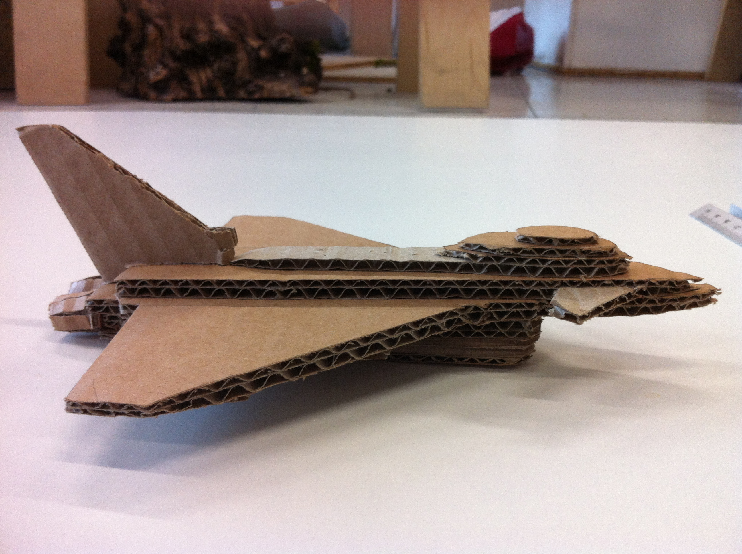 Cardboard jets open sauce project for How to build a side by side